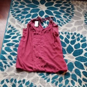 Maurices mauve strappy camisol top